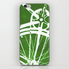 Green Bike iPhone & iPod Skin