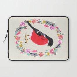 Bullfinch by Andrea Lauren  Laptop Sleeve