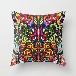 Imagine, Courage, Create Throw Pillow