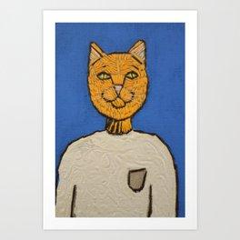 Steve Meowbs Art Print