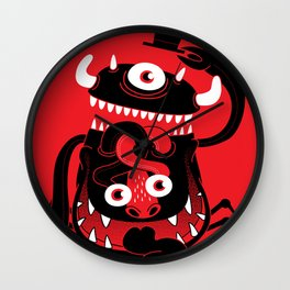 Mister Monster Wall Clock