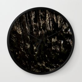 Slimy Wood Wall Clock
