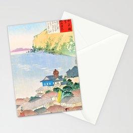Kobayashi Kiyochika - Sketches of the Famous Sights of Japan - Atami Hot Spring - Digital Remastered Edition Stationery Cards