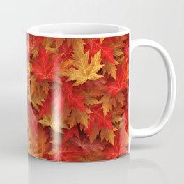 Autumn Case Fall Leaves Coffee Mug
