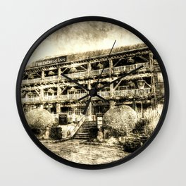 Dickens Inn Pub London vintage Wall Clock