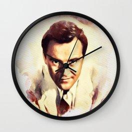 Jack Lemmon, Vintage Actor Wall Clock