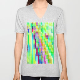 Re-Created Cypher 7.0 by Robert S. Lee Unisex V-Neck