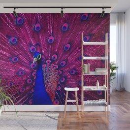 Peacock Pink 85 Wall Mural