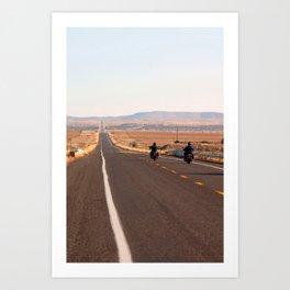 Route 66 in Arizona Art Print