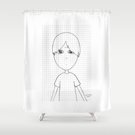 My imaginary friend_019 Shower Curtain