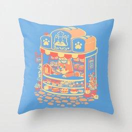 Panko's Barkery Throw Pillow