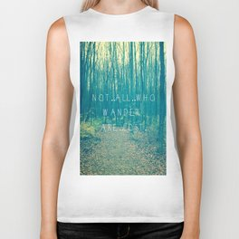 Wander in the Woods Biker Tank