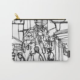 Walk Through (Japan), A Continuous Line Drawing Carry-All Pouch