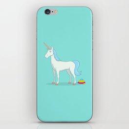 Unicorn Poop iPhone Skin