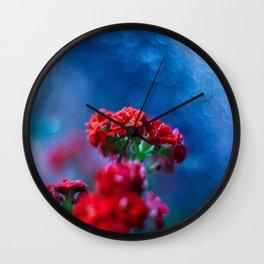 Rainy Heart Wall Clock