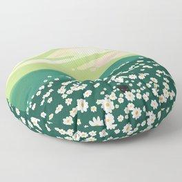 Spring Vibe Floor Pillow