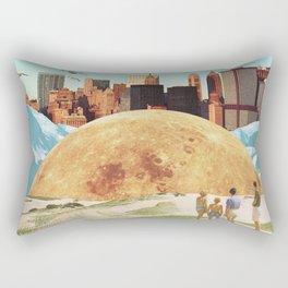 Vanished Worlds Rectangular Pillow