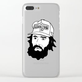 Forest Forest Gump Clear iPhone Case