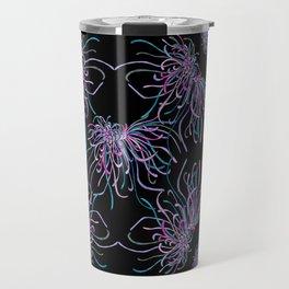 Purple Chrysanthemums Travel Mug