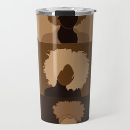 FOR BROWN GIRLS COLLECTION COLLAGE Travel Mug