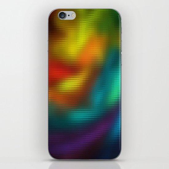 Color Mosaic iPhone Skin