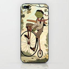 Morning Ride iPhone Skin