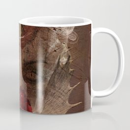 Lady with the red rose Coffee Mug