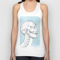 grid Tank Tops featuring Grid by Isberg Illustration