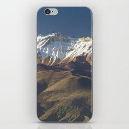 Volcano Chachani near city of Arequipa in Peru iPhone Skin