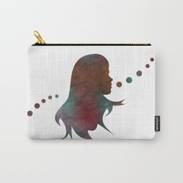 Talking Bubble (colorful silhouette) Carry-All Pouch