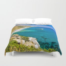 Landscape on Crete Duvet Cover