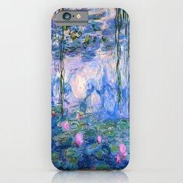 Water Lilies Monet iPhone Case