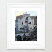 building Framed Art Prints featuring Building by Crash Wrysinski