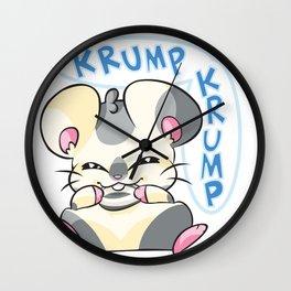 Oxnard Krump Krump Wall Clock