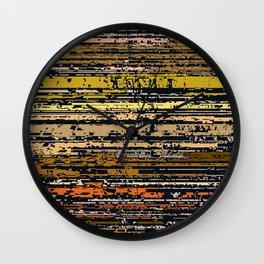 Raster 4 Wall Clock