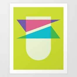 Cacho Shapes LXXVI Art Print