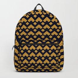 Traditional Japanese pattern KAMINARI Backpack