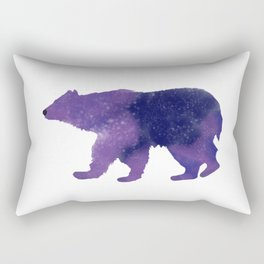 Some Bear Out There, Galaxy Bear Rectangular Pillow