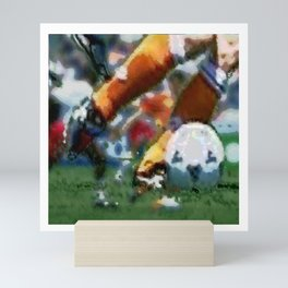 Soccer Mini Art Print