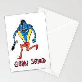 The Goon Goblin Monster Illustration Stationery Cards