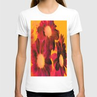vintage flowers T-shirts featuring Vintage Flowers Q by Vitta