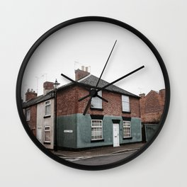 vintage architecture in derbyshire Wall Clock