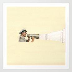 Torn Around - Sailor Art Print