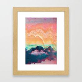 skych_12 Framed Art Print