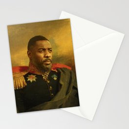 Idris EIba - replaceface Stationery Cards