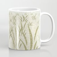 grass Mugs featuring Grass by Armin