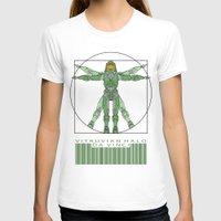 halo T-shirts featuring vitruvian Halo by tshirtsz