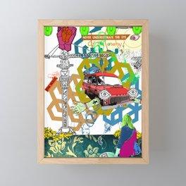 Of The Enemy Framed Mini Art Print
