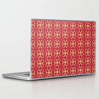 stripe Laptop & iPad Skins featuring Stripe 1 by Shelly Bremmer