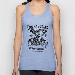 the legend of speed Unisex Tank Top